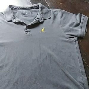 Vintage grey Kangol polo shirt